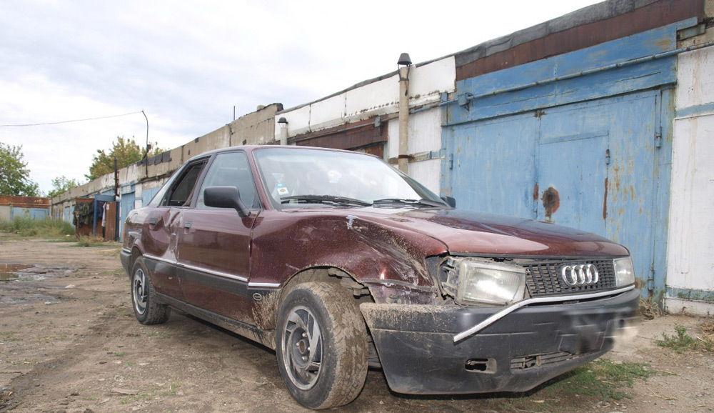 Автомобиль в аварийном состоянии