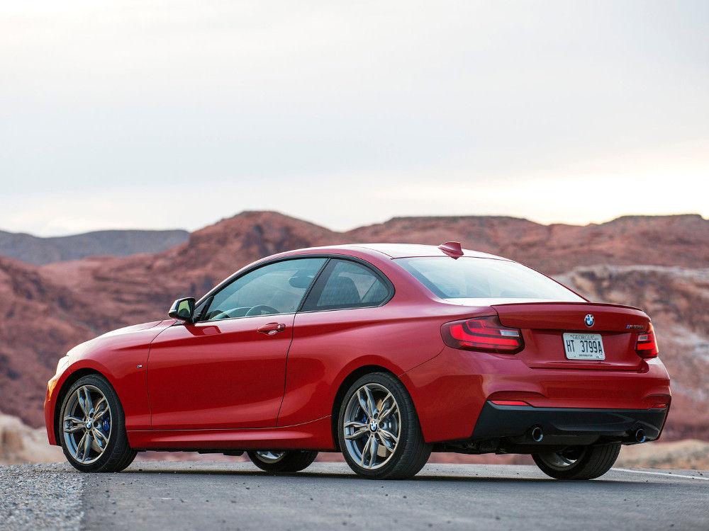 В конце августа BMW M2 Coupe будет презентована на сайте компании