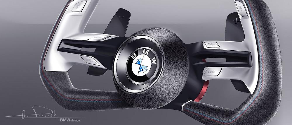 """Пока известен только внешний вид рулевого колеса одной из """"машин будущего"""""""