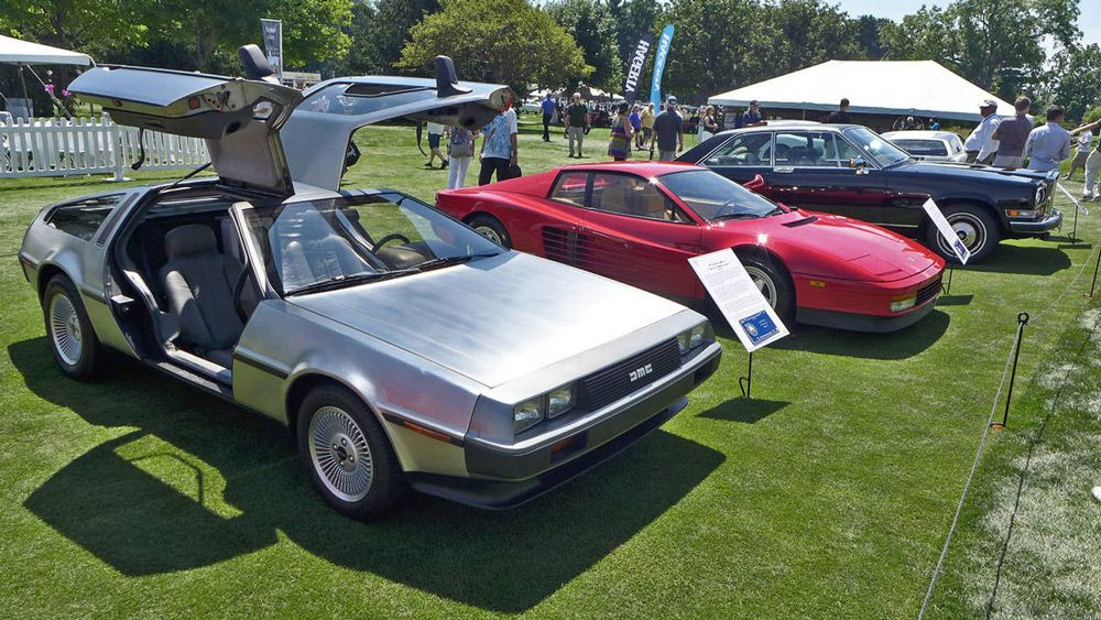 Автомобили наConcours d'Elegance of America