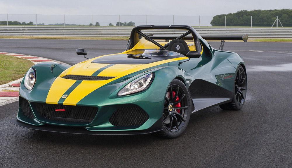 Внешний вид автомобиля Lotus 3-Eleven