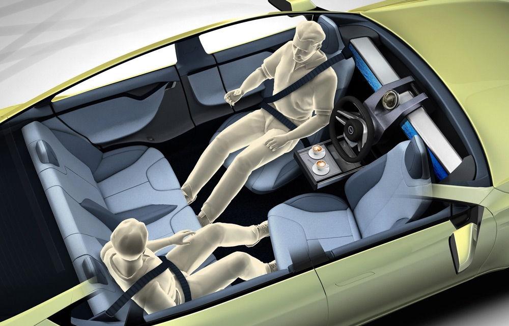 Так может выглядеть салон автономного автомобиля