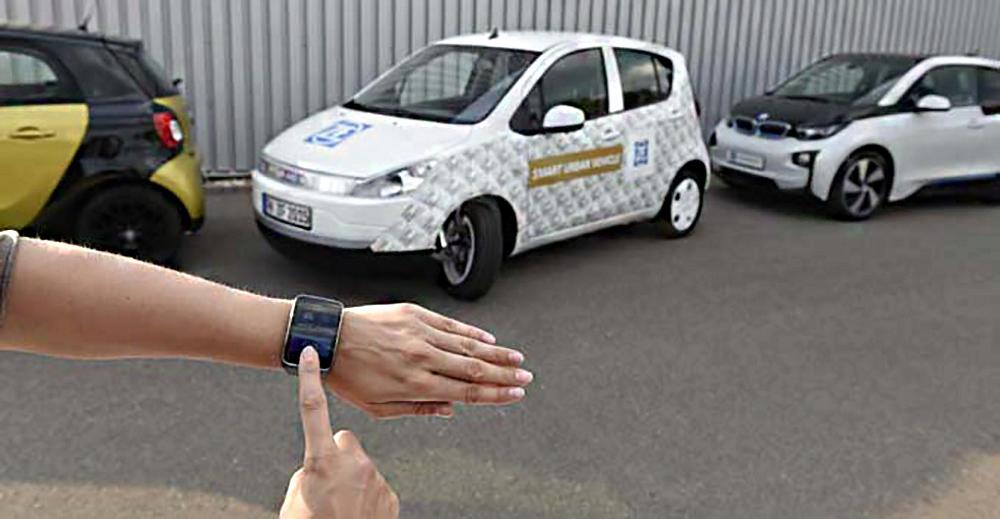 Первый образец электромобиля оснащен новыми интересными функциями