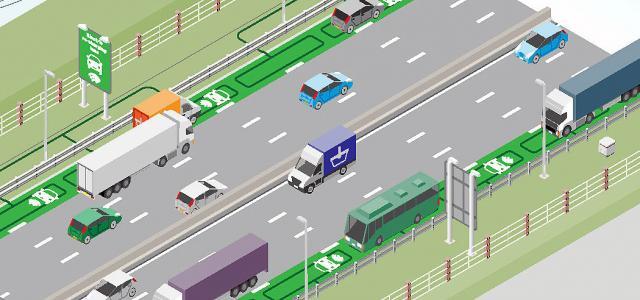 Так будет выглядеть автомагистраль в будущем