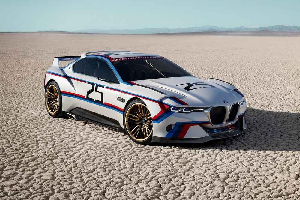 Новая модель BMW 3.0 CSL Hommage R