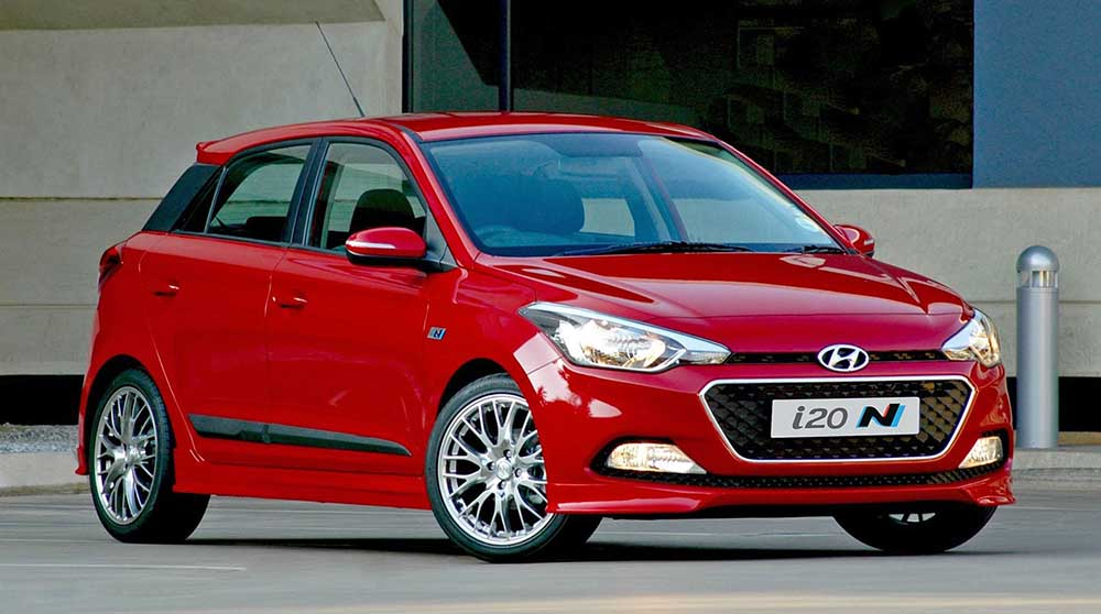 Вариант Hyundai i20 N Sport более мощный