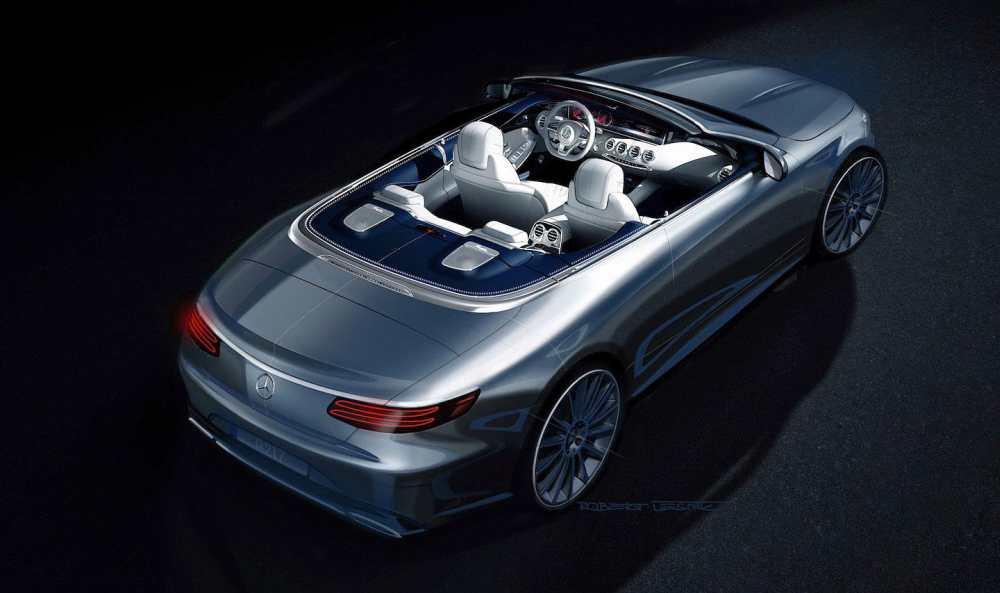 Кабриолет Mercedes-Benz S