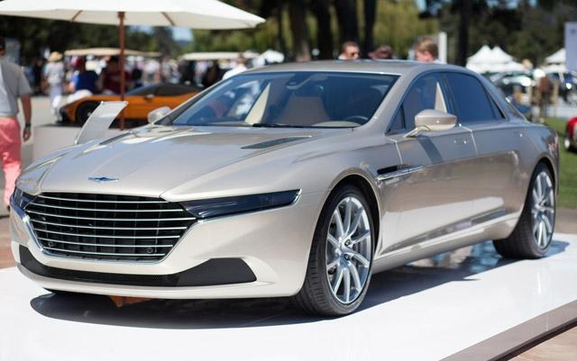 Роскошный лимузин Lagonda Taraf
