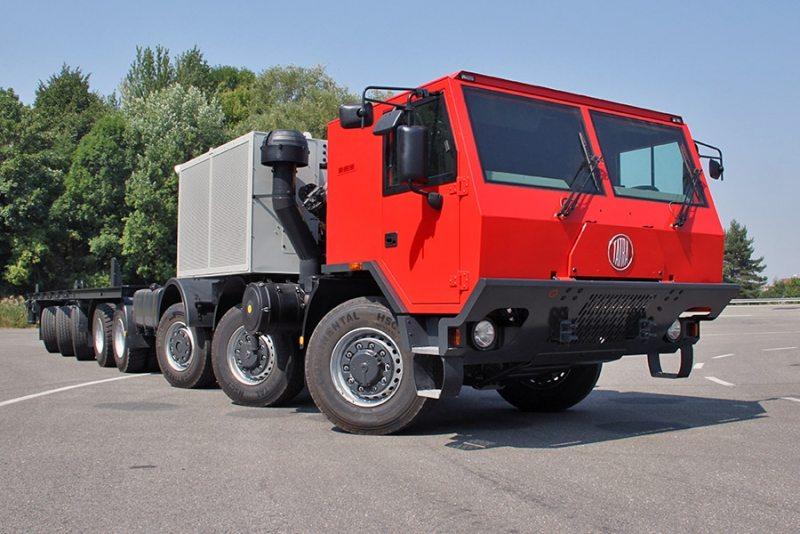 Tatra Trucks сделала самый длинный автомобиль в своей истории