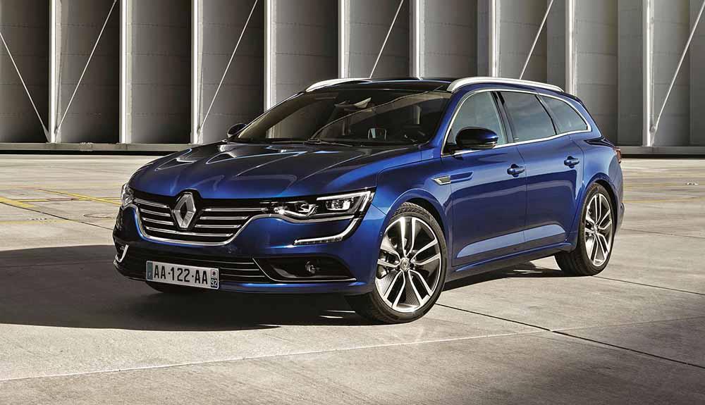Универсал Renault Talisman Grandtour для клиентов, предпочитающих большой багажник
