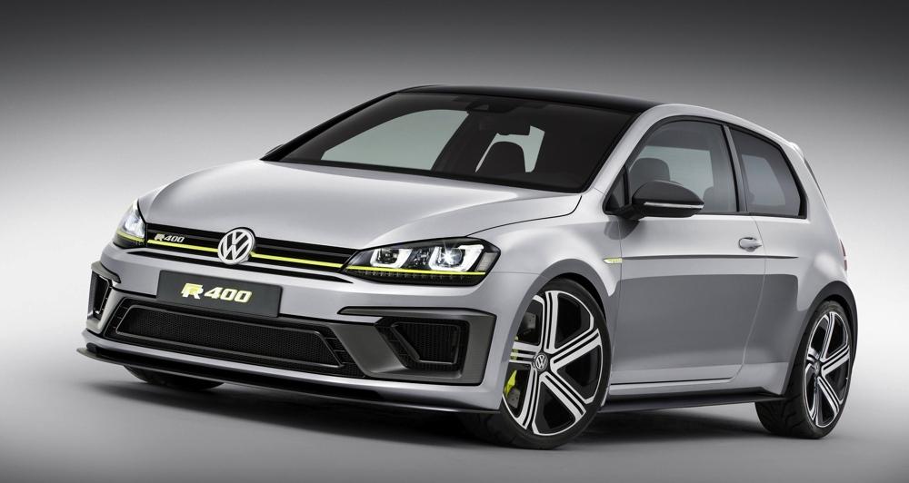 Концепт VW Golf R-400