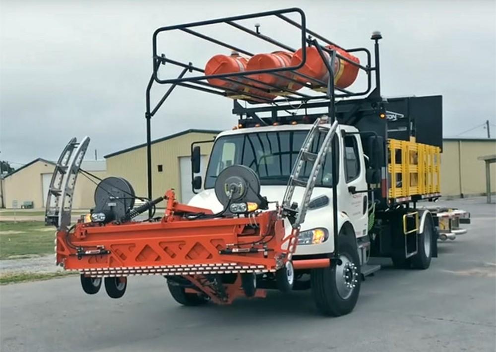 Уникальная машина будет использоваться для обслуживающего персонала дорог