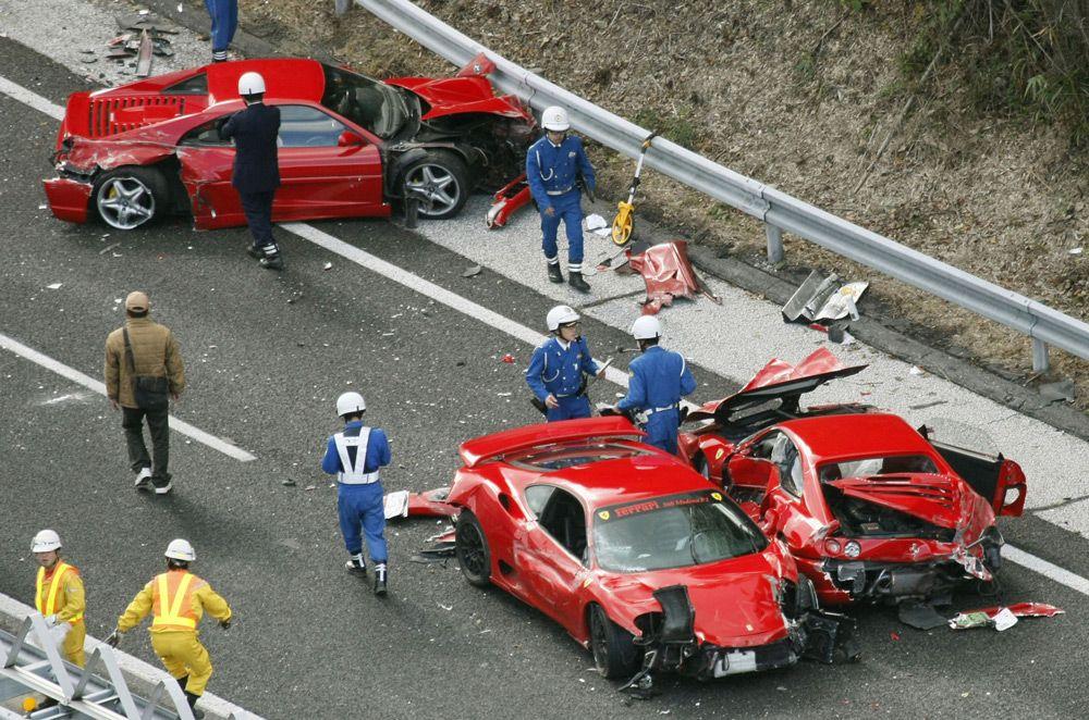 ДТП в Японии