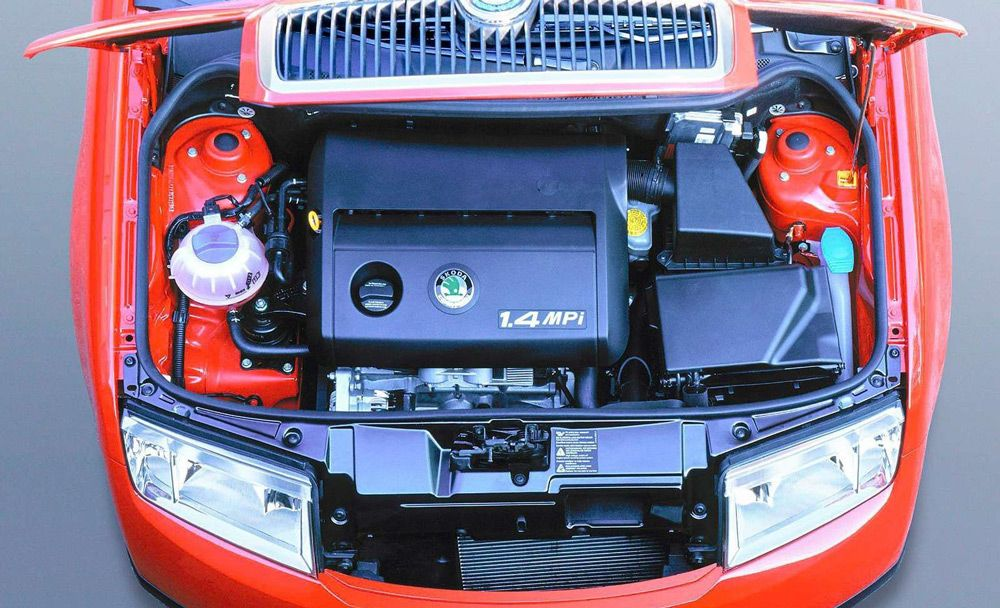 Автомобиль с MPI-двигателем