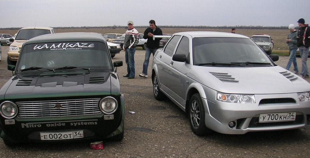Автомобили с жабрами
