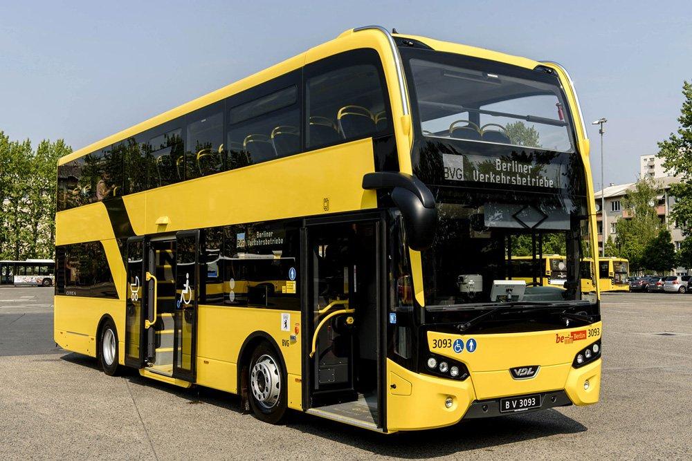 В Германии создали суперсовременный двухэтажный автобус