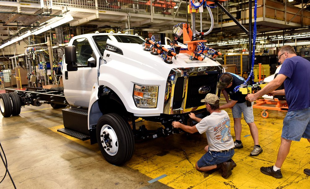 Завод в Огайо стал первым американским местом производства грузовиков Ford