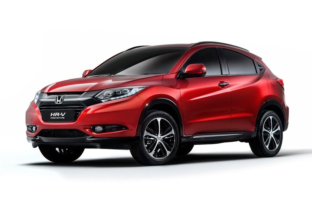 Honda покажет свою новую модель внедорожника