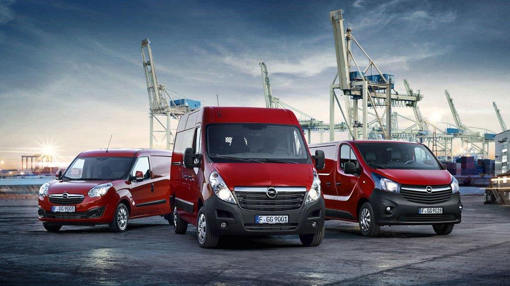 Opel будет модернизировать начинку своих коммерческих автомобилей