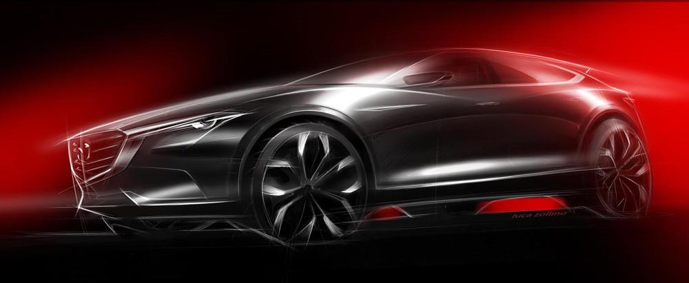 Тизер Mazda Koeru
