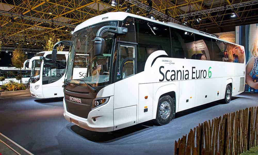 Автобусы соответствуют стандарту Евро 6 по наличию вредных веществ в выхлопных газах