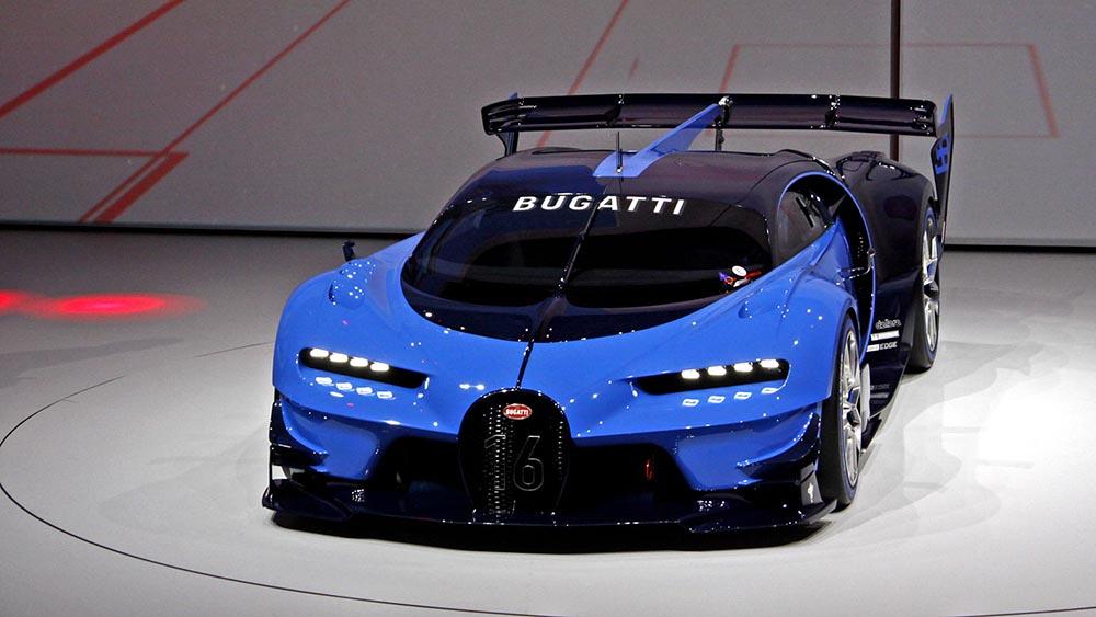 Концепт Bugatti Vision Gran Turismo