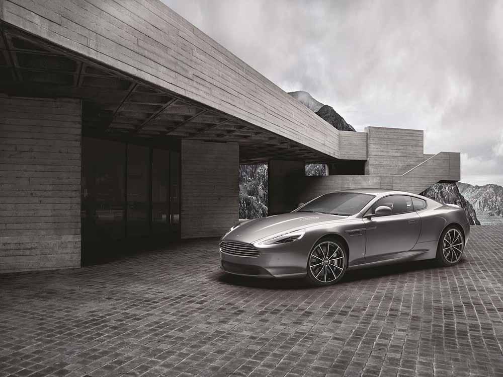 Лимитированная серия Aston Martin DB9 GT Bond Edition