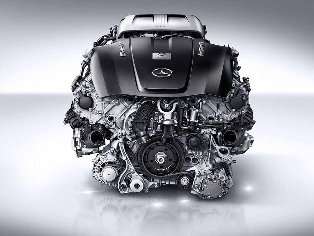 Двигатель Mercedes-AMG