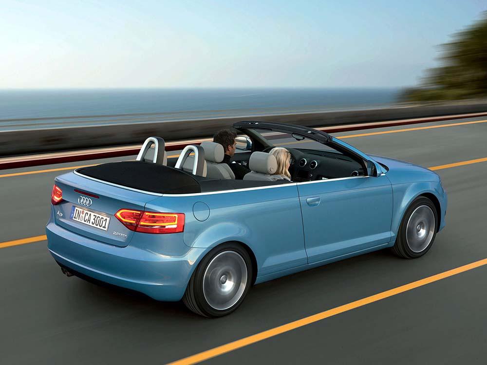 Кабриолет Audi A3 с двухлитровым турбодизелем