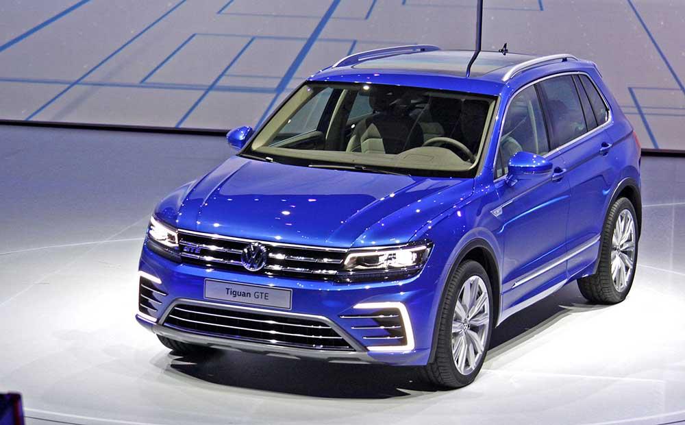 Концепт Volkswagen Tiguan GTE