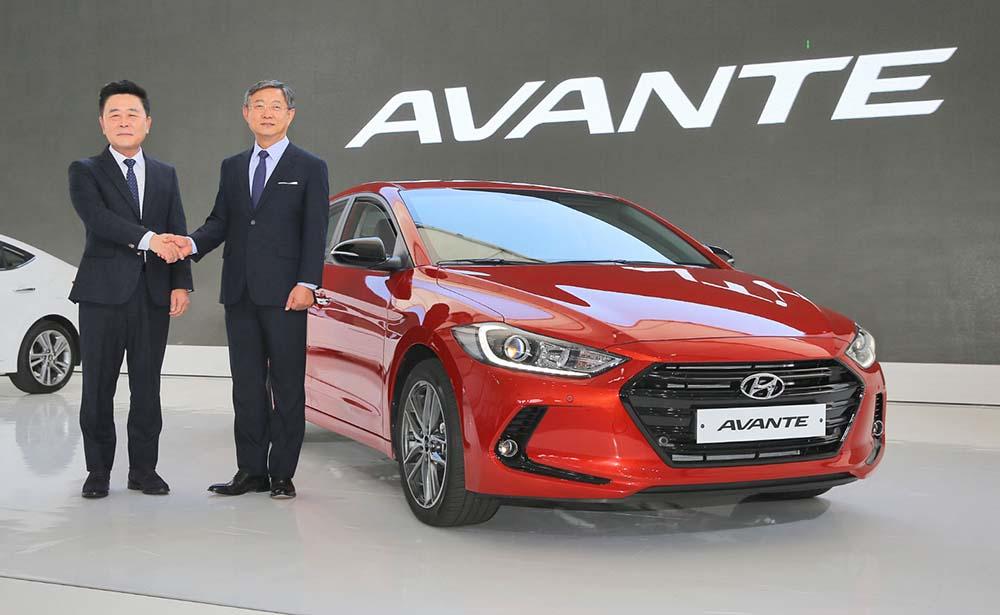 В Корее машину знают как Avante