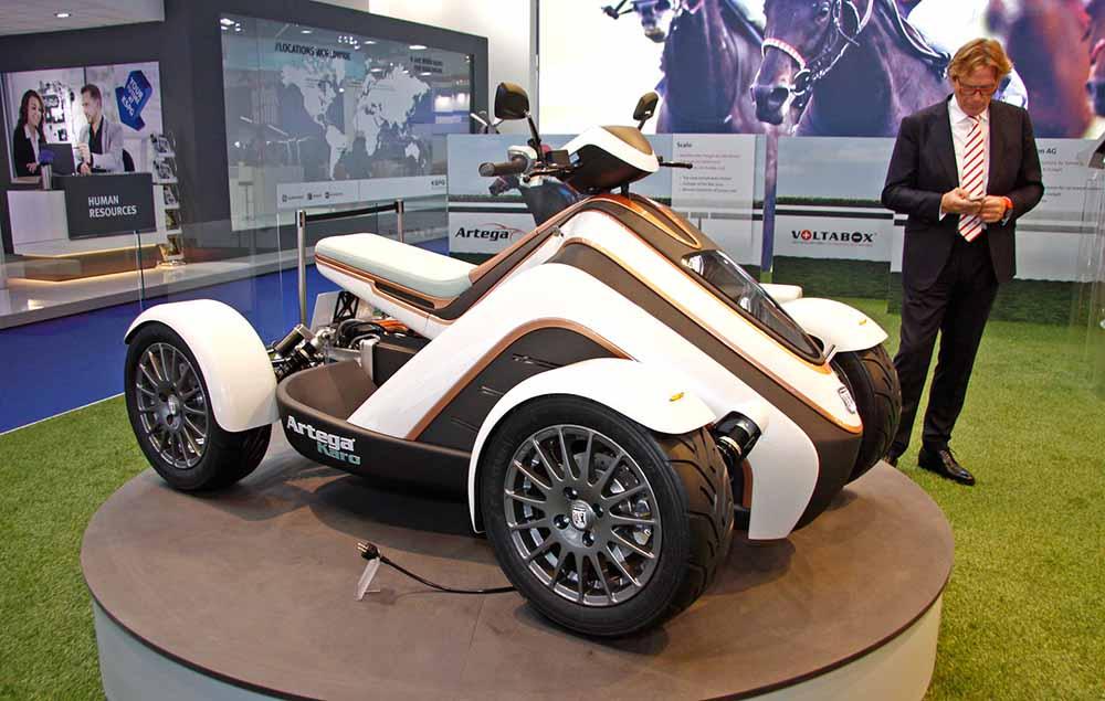 Квадроцикл Karo на электроприводе