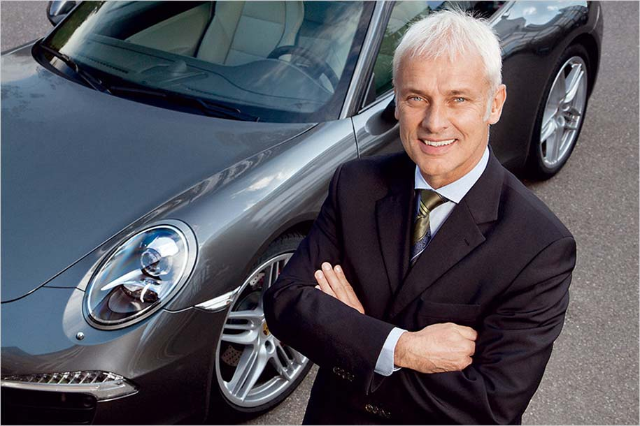 Матиас Мюллер станет во главе концерна VW