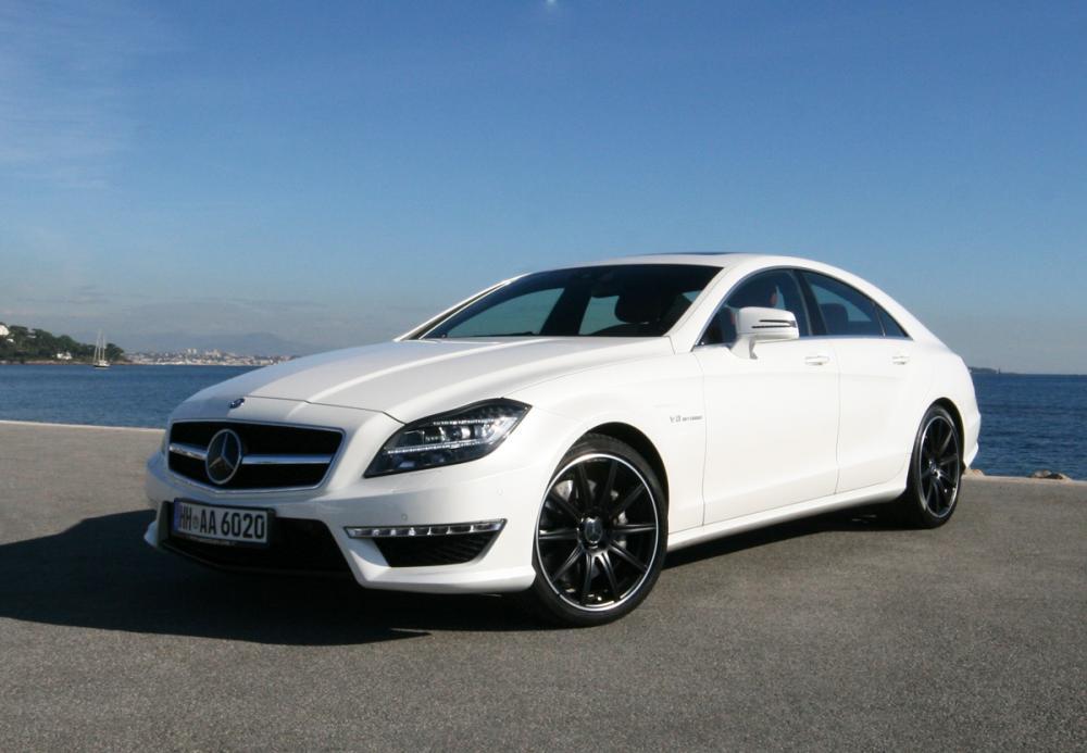Mercedes CLS хорошо продаётся