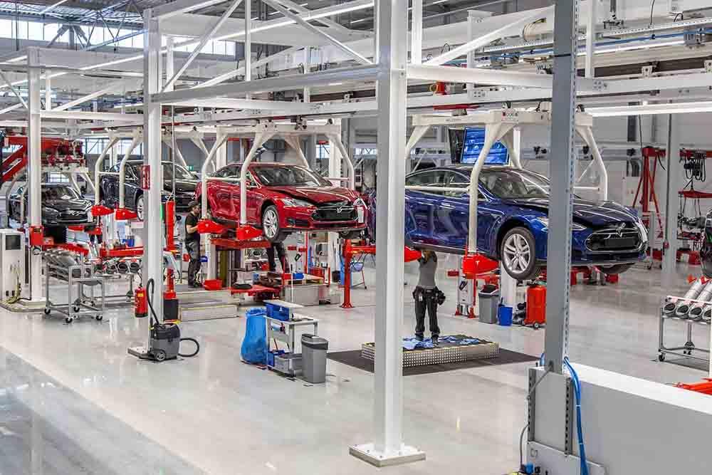 На заводе будут собирать Модель S и Модель X