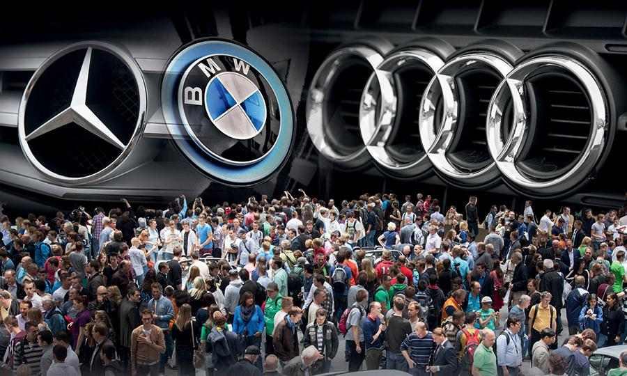Немецкие компании наращивают объёмы продаж за счёт моделей для массового потребителя