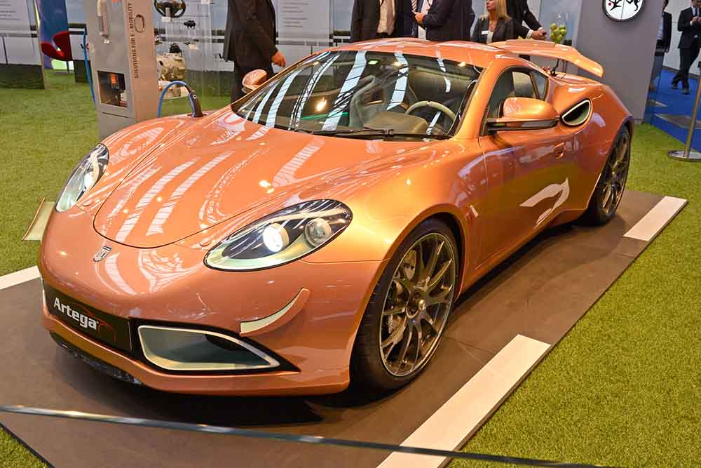 Новый электромобиль Artega Scalo в кузове купе