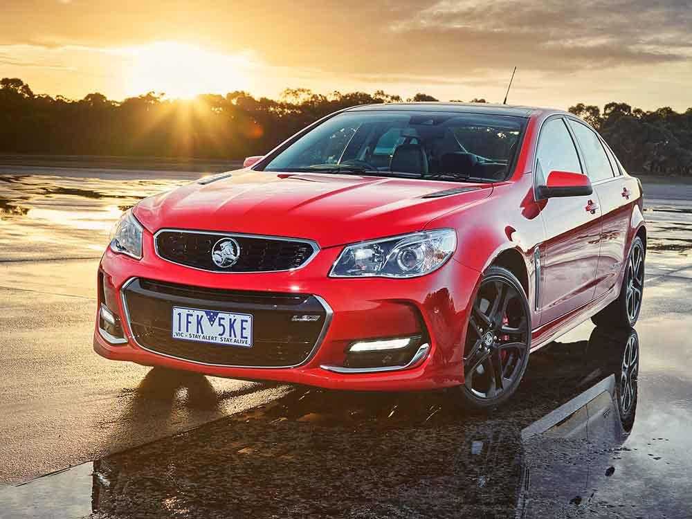 Последнее обновление Holden Commodore VFII