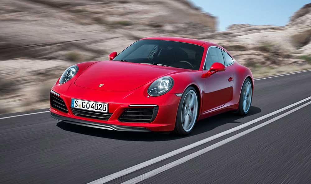 Обновлённое купе Porsche 911 Carrera