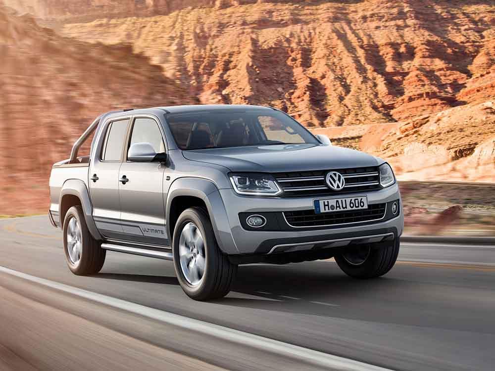 Мощный пикап VW Amarok Ultimate