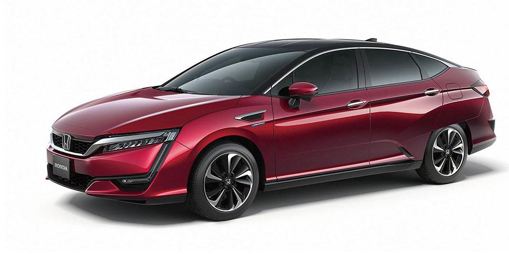 Внешний вид серийного Honda FCV