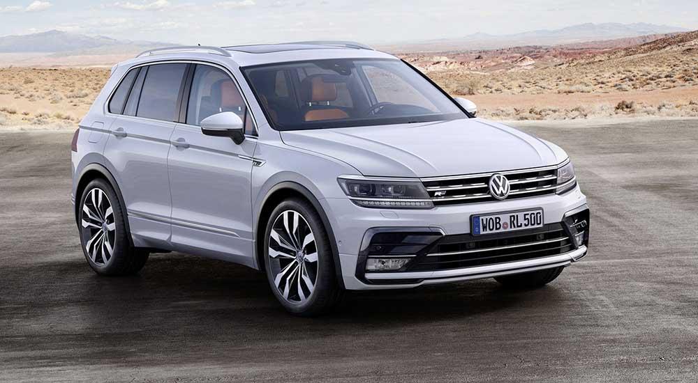 Второе поколение VW Tiguan