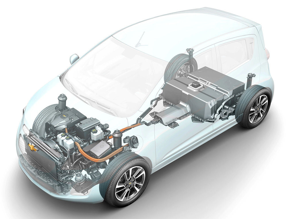 Автомобиль с электродвигателем