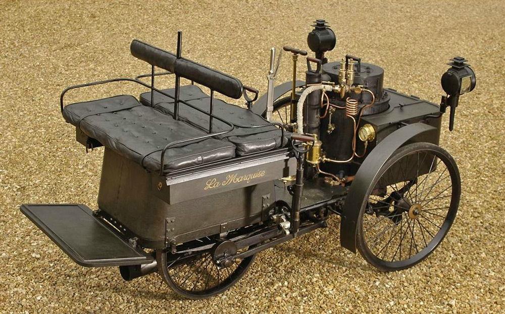 Автомобиль с паровым двигателем