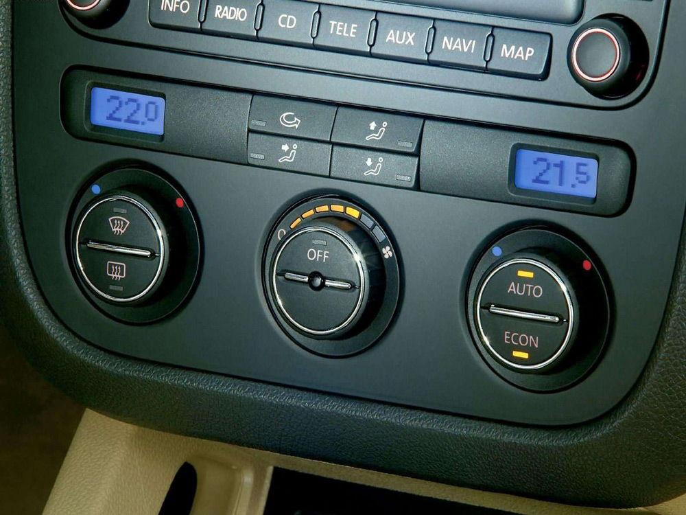 Климат-контроль автомобиле