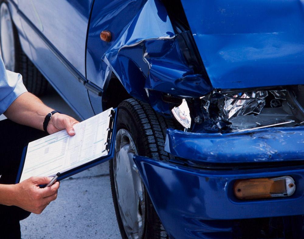 Оценка повреждённого автомобиля