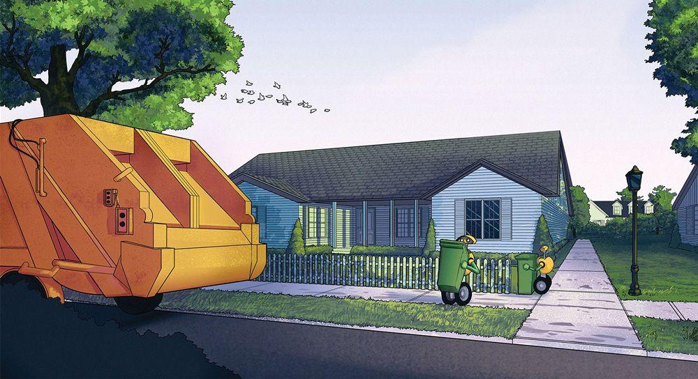 Автоматизация выброса отходов выходит на новый уровень