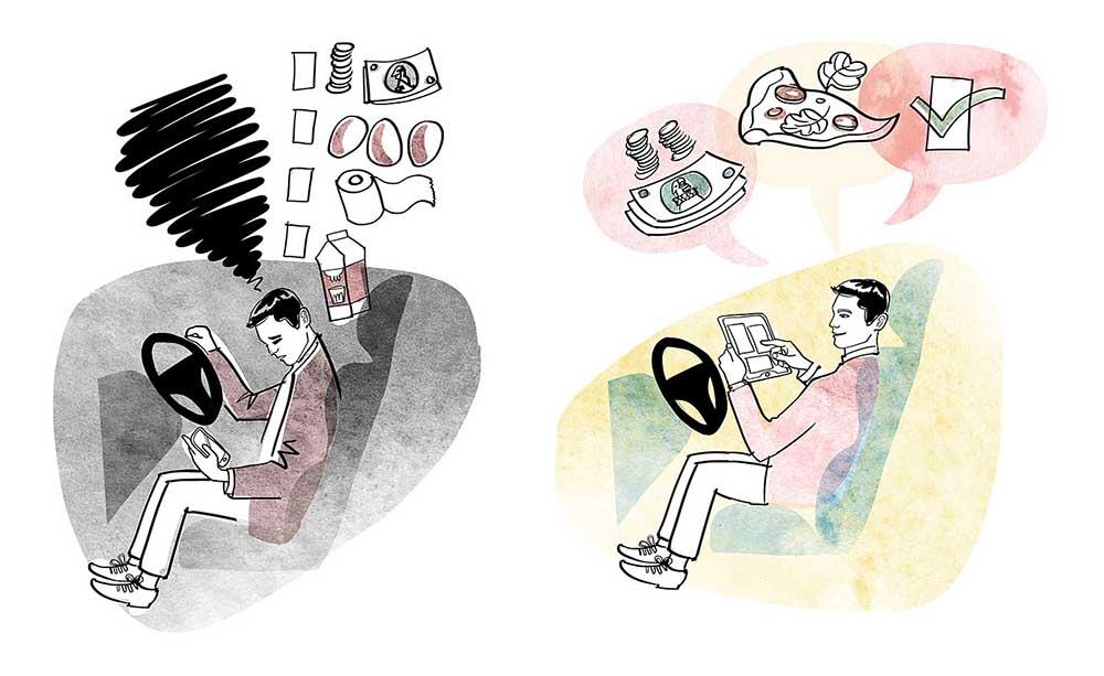 Автономное транспортное средство позволит водителю решать другие задачи во время движения