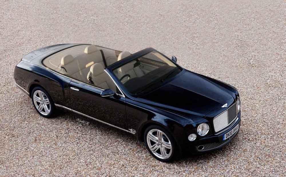 Дебют кабриолета Bentley Mulsanne, возможно, будет отложен