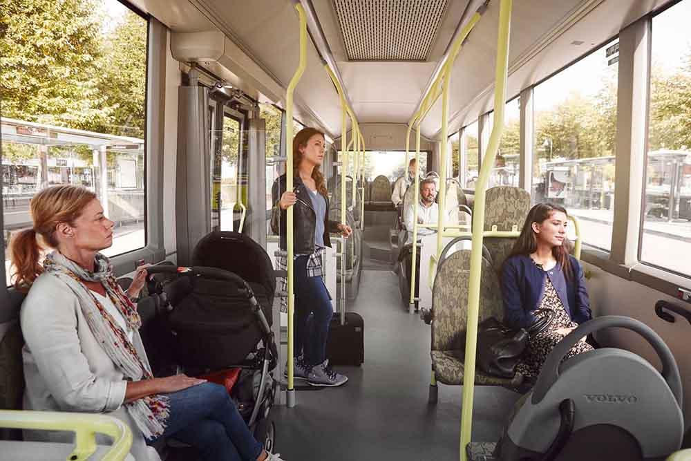 Электроавтобус идеален для использования на городских маршрутах